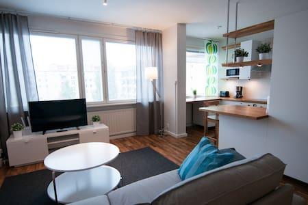 Modern serviced 1BR apartment in Kuopio center - Kuopio - Appartement