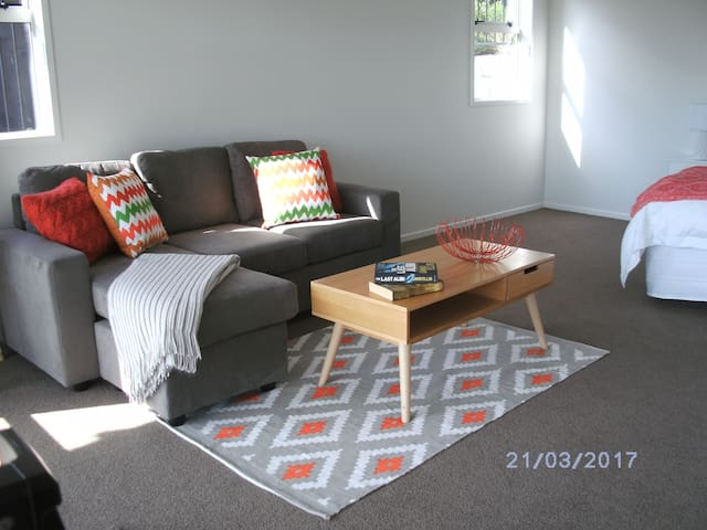 Fabulous As New Spacious Studio - Tauranga - Appartement