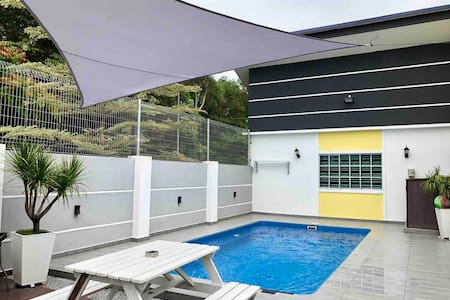 H&H 1 【Private Pool•16 Pax•Jacuzzi•BBQ•Steamboat】