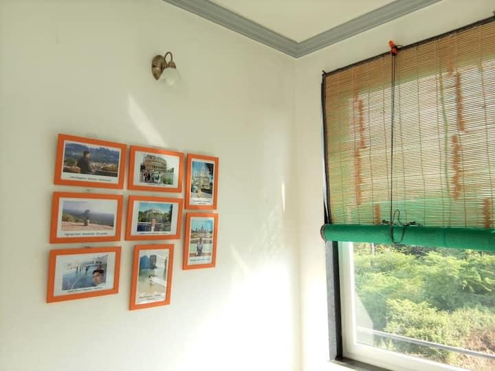 Rajpura House - Private 1st floor with balconies