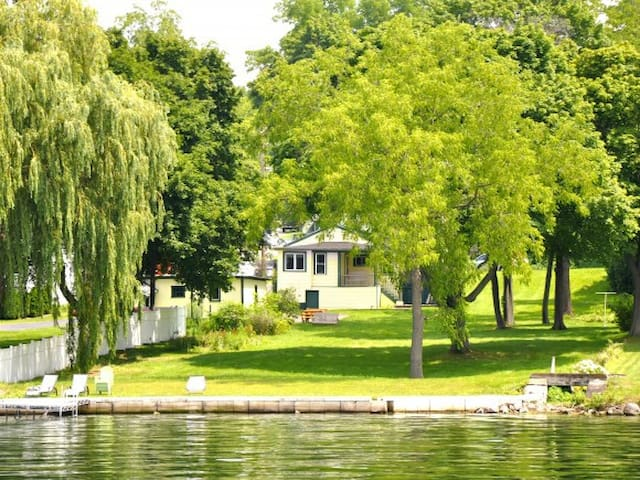 Lake Home on Cayuga- Huge yard! Beautiful sunsets!