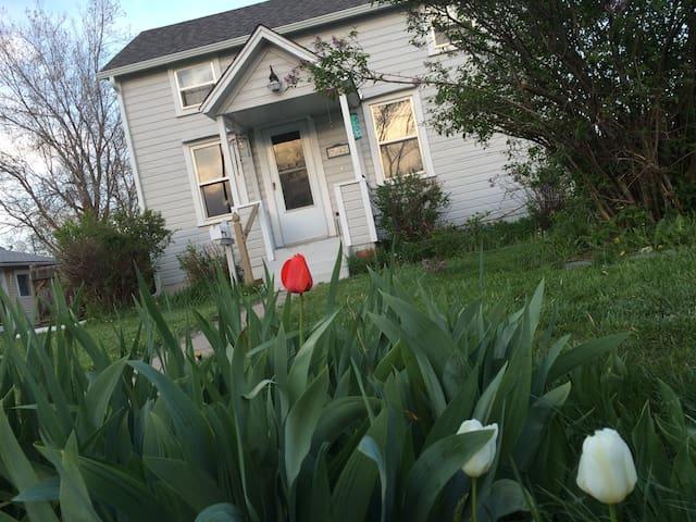 Vaudeville Cottage; Vintage Farm Style House