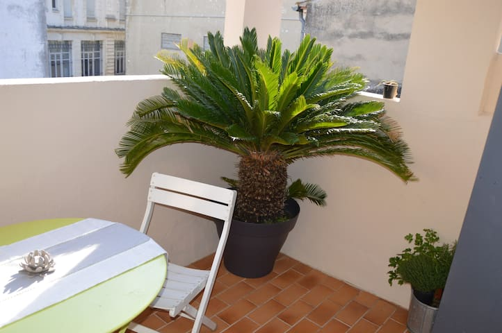 Appartement cosy+terrasse et clim 3***clé vacances