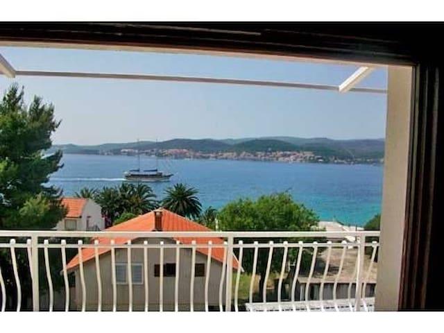 Two Bedroom Apartment, seaside in Kuciste, Terrace