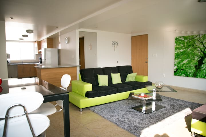 New  and Beautiful Apartment with nice view - Ciudad de México  - Leilighet