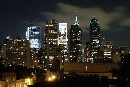 Heart of center city -Rittenhouse area