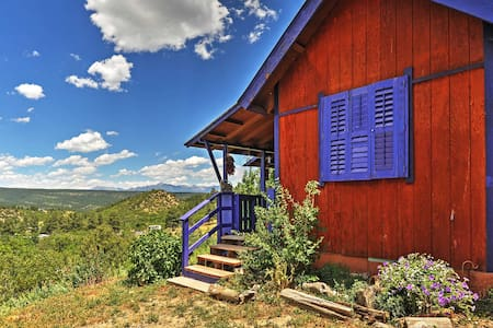 'Chalet in the Clouds' - 2BR Pagosa Springs Cabin - Pagosa Springs - Apartment