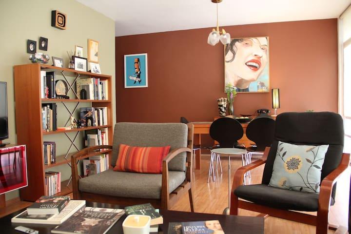 Nice & cozy apartment in La Roma - Ciudad de México - Flat