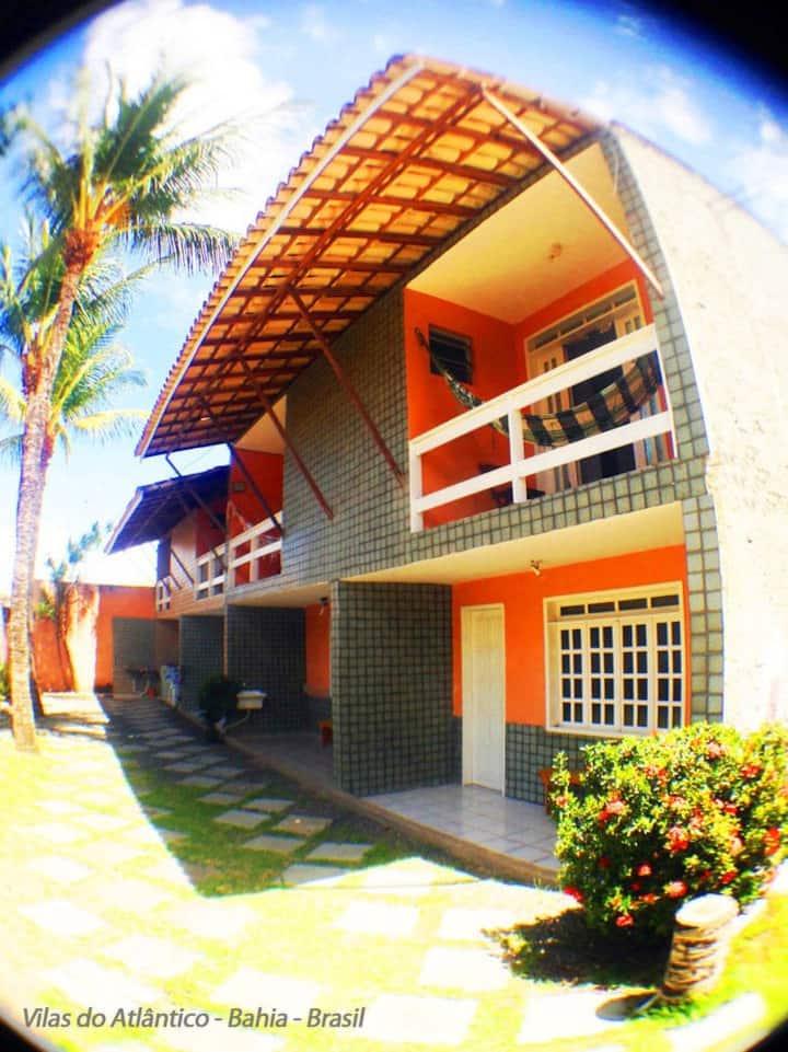 Village Duplex Rústico e Charmoso na Bahia