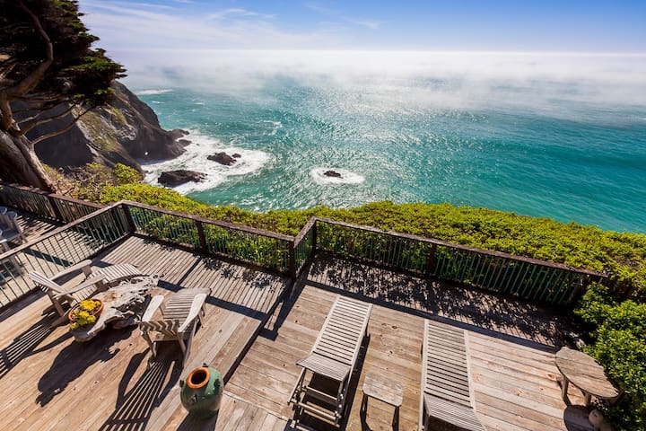 Oceanfront Vacation Home On The Mendocino Coast
