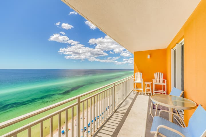 Enjoy unmatched Gulf views, beach access & shared pool/hot tub/lazy river!