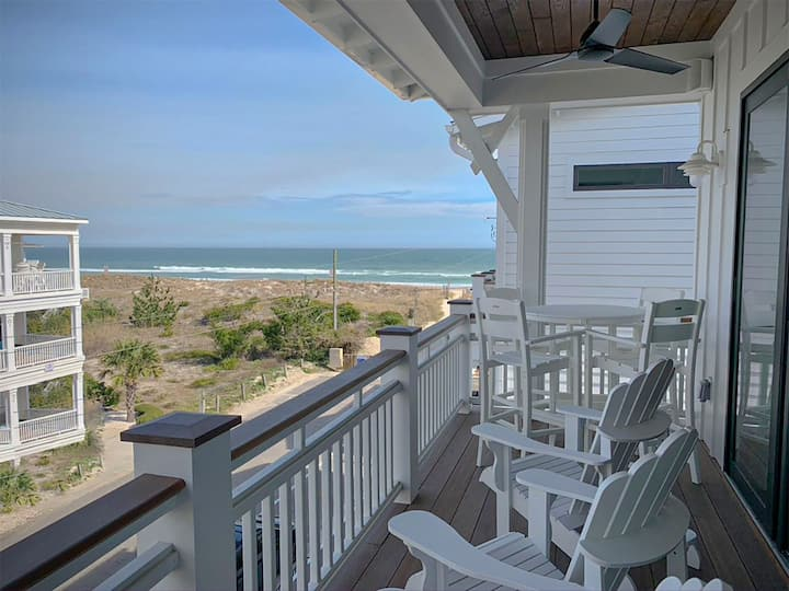 All New!! Top Level New Construction Condo with Ocean Views and Elevator.