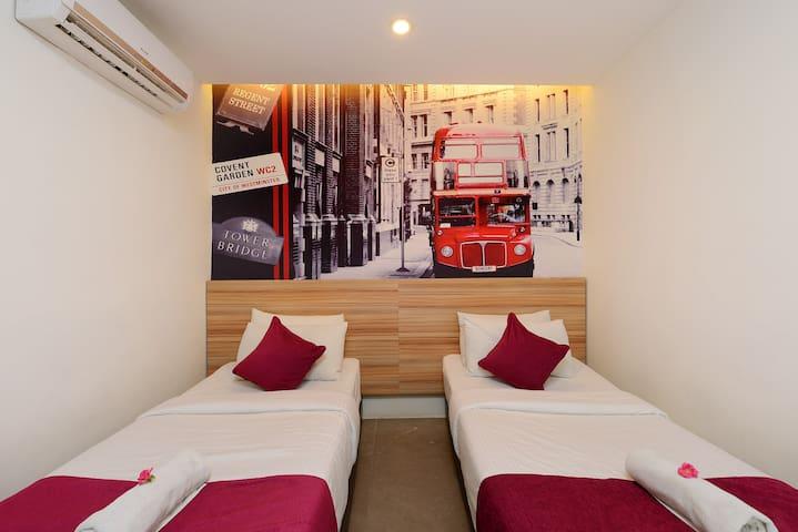 Sleek room for 2 in Kuala Lumpur - Bentong - Apartamento