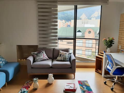 Cómodo y acogedor apartamento en Bogotá