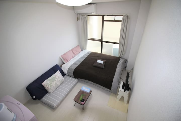 Osaka!Namba! quiet and comfy room★Wifi★205