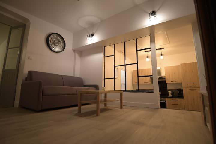 Cosy appartement avec cour Hyper centre ville