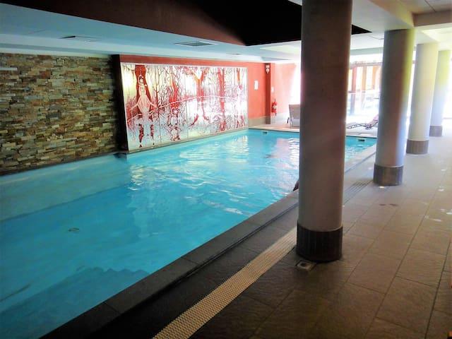 T2, sauna piscine, labellisé 4 oreillers/CONFORT+