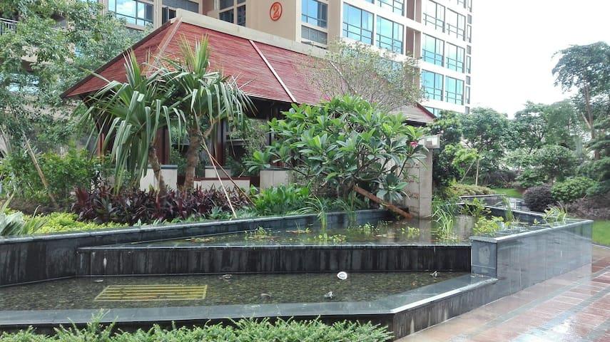 珠海斗门地标鱼形塔,酒店式公寓住宿 - Zhuhai - Lakás