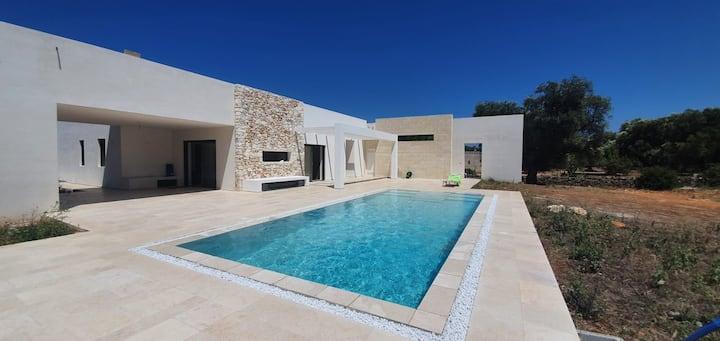 Stupenda villa piscina - oliveti - vista mare