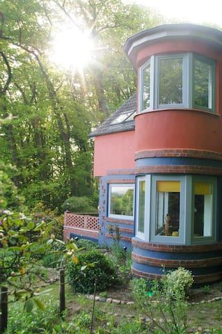 """""""Lotte Petersen Wohnung"""" mit viel Stil ganz oben - Worpswede - Apartament"""