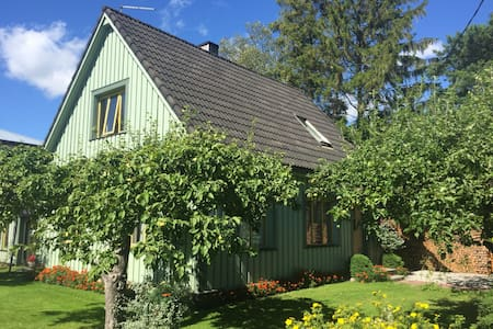 Full 2nd Floor of a Charming House with a Terrace - Pärnu
