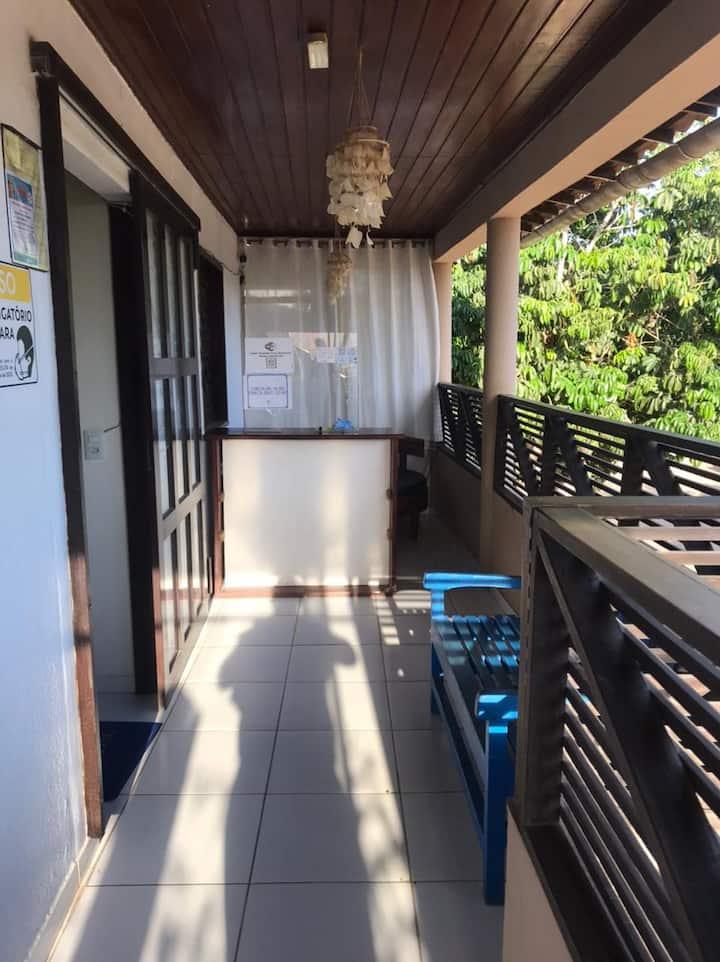 Apartamento com banheiro privativo, Green jeri