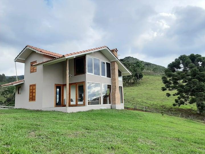 Chalé Mirante do Vale -  Serra da Mantiqueira