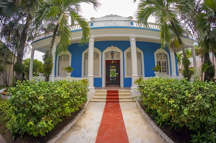 Enjoy a Unique Historic Mansion With Private Pool!