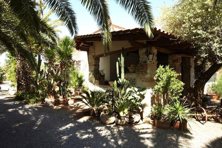 Villa in lush greenery beach close - Ricadi - 別荘