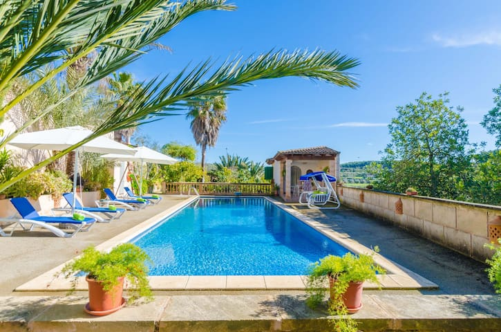 SABOR DE CAS FERRER - Villa with private pool in MONTUÏRI Free WiFi