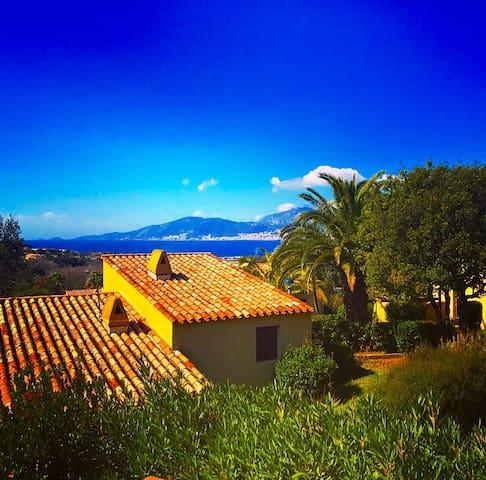 Petite maison de charme vue sur mer à Porticcio - Grosseto-Prugna
