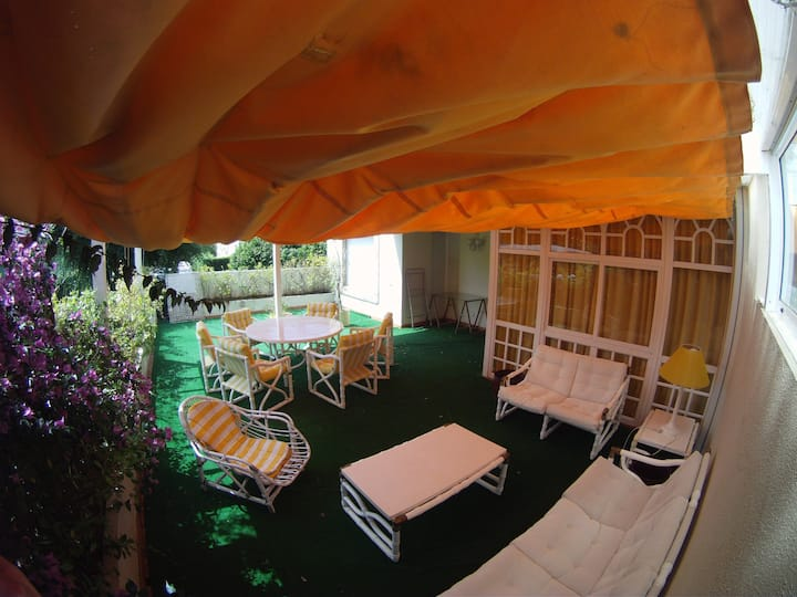 Apartamento con amplia terraza en Isla De La Toja