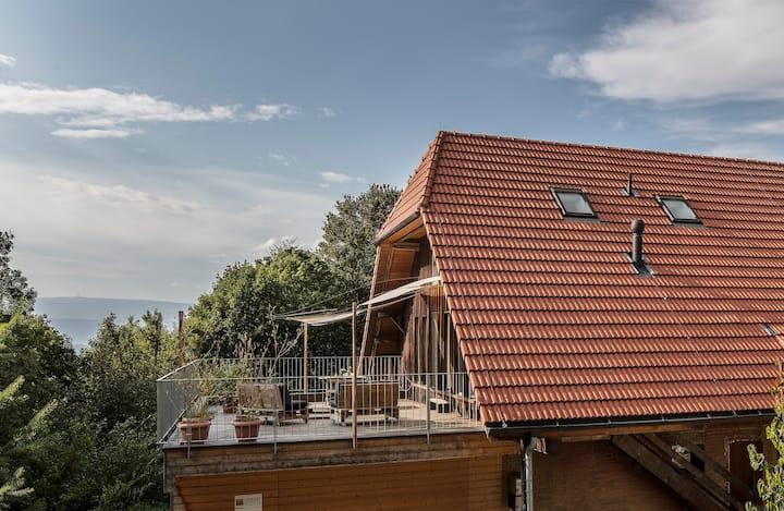 Maisonette-Wohnung am Waldrand