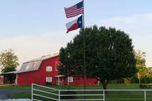 Hello Red Barn Welcomes You
