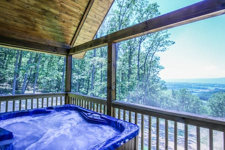 Breccia Cabin @shenandoahwoods, cabin with a view!
