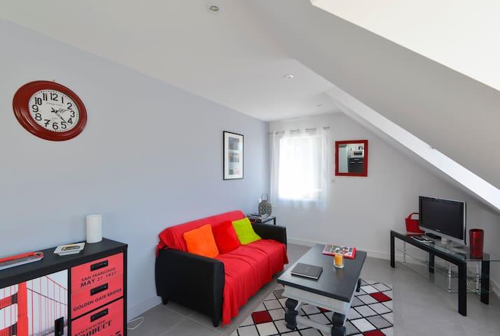 Espace salon - canapé 2 places