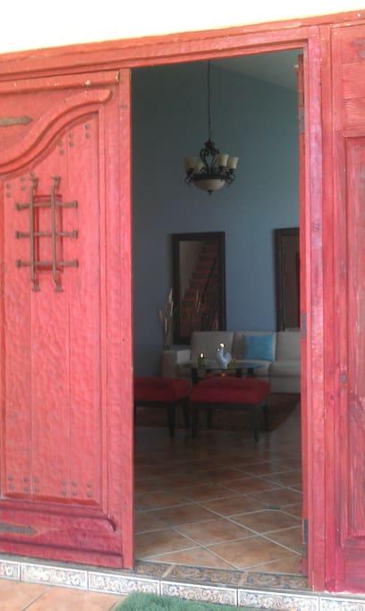 Artisan Doors Entrance