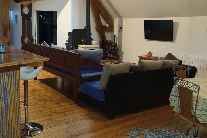 Appartement cosy proche Deauville,honfleur...