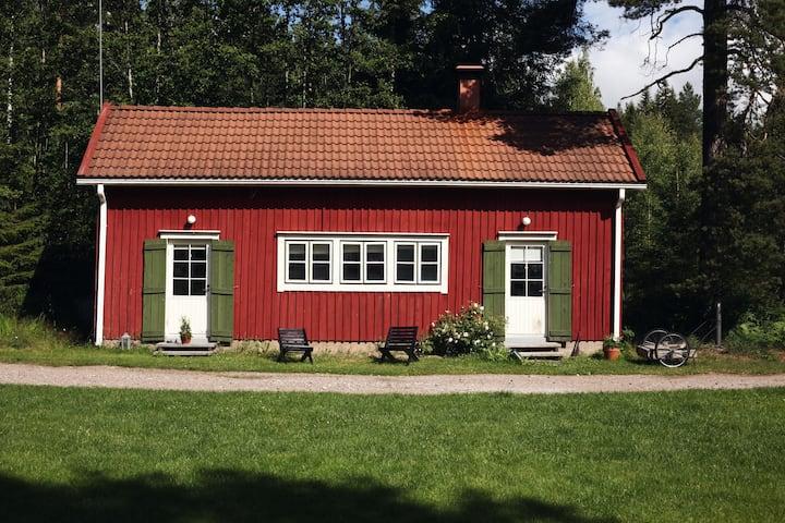 Cute Cottage in Finnish Landscape
