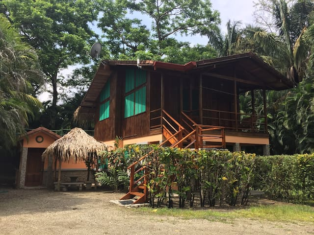 Poolside house at Mal Pais Surf Camp