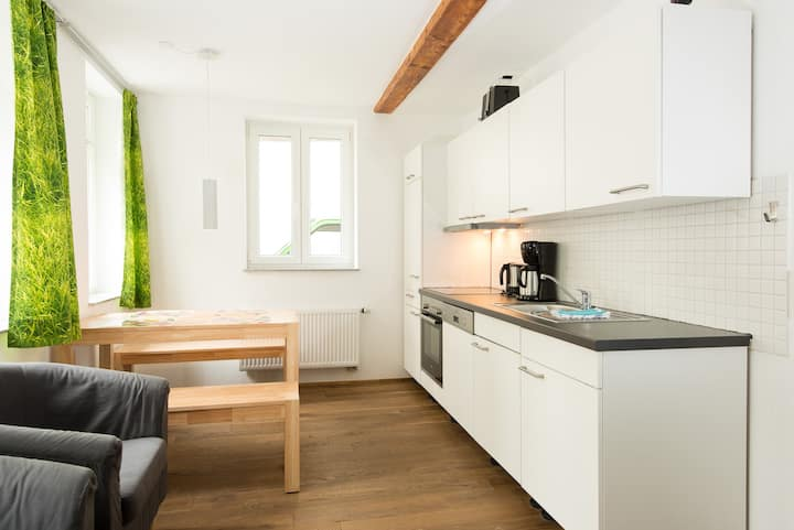 Ground floor apartment in downtown  of Ravensburg