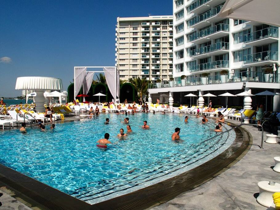 Amazing 5 hotel mondrian suite apartments for rent in - Cheap 2 bedroom suites in miami beach ...