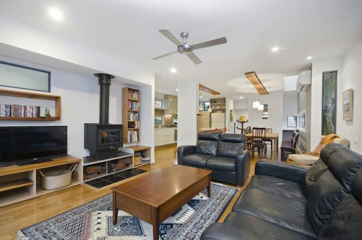 Modern 4 br house 150m beach/shops! - Point Lonsdale - Casa