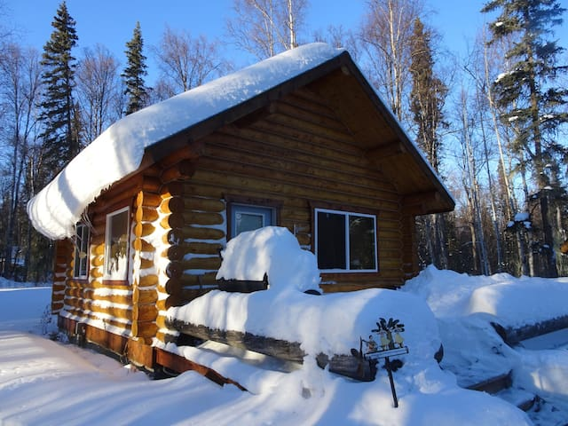 Log Cabin near Christiansen Lake - Talkeetna - Cabana