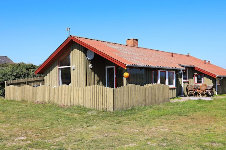 Large Holiday Home in Løkken Denmark With Sauna