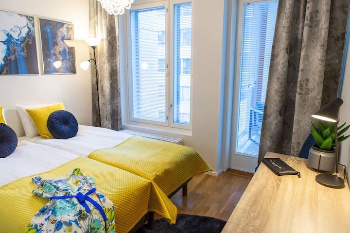 Super cosy and family friendly 2BR apartment+sauna