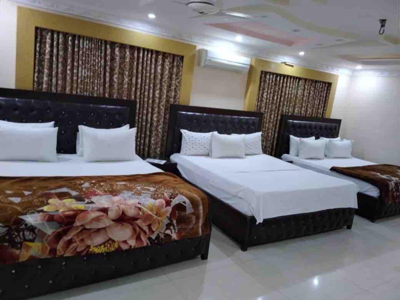 Three master bedroom
