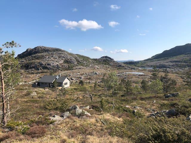 Hytte i naturskjønne omgivelser i RYFYLKE