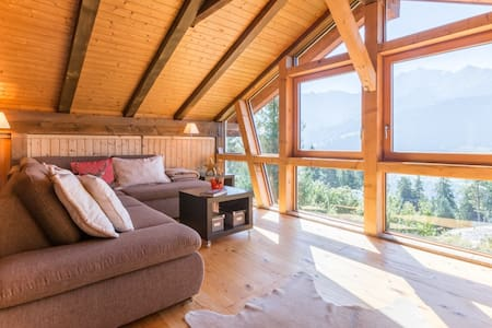 Fantastic 4.5 bedroom apartment in the middle of the Ski Resort Flims Laax Falera - Лакс - Шале