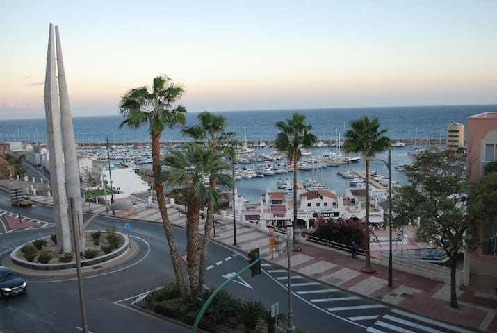 PISO VISTAS AL MAR - WIFI + PARKING - Aguadulce - Apartamento